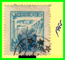KOREA   -  SELLO  DEL  AÑO 1955 - Corea (...-1945)