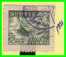 KOREA   -    SELLO  DEL  AÑO 1951 - Corea (...-1945)
