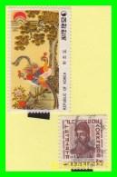 KOREA   -   2  SELLOS  DEL  AÑO 1975 - Corea (...-1945)