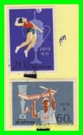 KOREA   -  2  SELLOS   DEL  AÑO 1974 - Corea (...-1945)