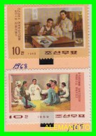 KOREA   -  2 SELLOS   DEL  AÑO 1968-69 - Corea (...-1945)