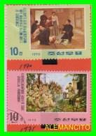 KOREA   -  2 SELLOS   DEL  AÑO 1970-75 - Corea (...-1945)