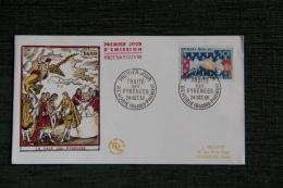 Enveloppe F.D.C. - 1er Jour D´Emission - LA PAIX DES PYRENEES - FDC
