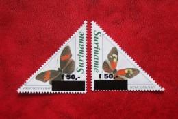 Surinam / Suriname 1996 Vlinders Butterflies Papillons (ZBL 903-904 Mi -  Sc 1088-1089A) POSTFRIS / MNH ** - Surinam
