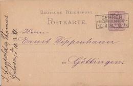 DR Ganzsache R3 Gehren In Schwarzb. Sondersh. 10.3.81 - Deutschland
