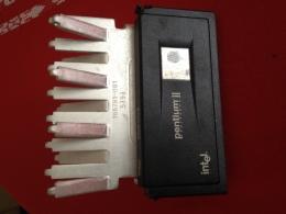 PENTHIUM II   With MMX SL 2U3  80523PY350512PE Avec Gros Radiateur ALU . - Circuits Intégrés
