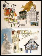 FRANCE 2003--BLOC Du Numéro YT 3596 Feuillet MAISON ALSACIENNE 0,50€ (ISSUE DU CARNET DES RÉGIONS) - Sheetlets