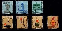 EE.UU.  AÑO 1978-1979. Sc 1604/1610 - Yv 1228/1232 + 1204  (MNH) - Ungebraucht