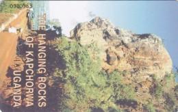 Uganda, UGA-21, 20 Units, The Hanging Rocks Of Kapchorwa, 2 Scans .