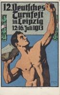 DR AK Zum 12. Dt Turnfest Leipzig EF Minr.85I SST Leipzig 15.7.13 Vignette Ansehen !!!!!!!!!!!!! - Deutschland