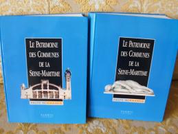 Editions FLOHIC : Le PATRIMOINE Des COMMUNES De La SEINE MARITIME ( 2 Vol) , 1997 - Normandie