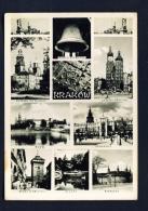 POLAND  -  Krakow  Multi View  Used Postcard - Poland