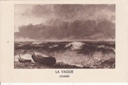 """COURBET """" La Vague """" - Paintings"""