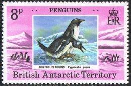 British Antarctic Territory SG90 1979 Penguins 8p Unmounted Mint - Ungebraucht