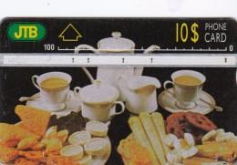 Brunei, BRN-L-02, Food, Tea, 2 Scans.  CN : 431F