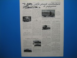 (1941) Les Grands Constructeurs De GAZOGÈNES - Vieux Papiers