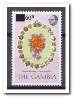 Gambia 1982, Postfris MNH, Flowers - Gambia (1965-...)