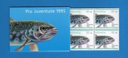 Svizzera ** 1995 - Carnet  Pro Juventute,  1995.  MNH.   Vedi Descrizione.   ( FR ) - Blocchi