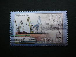 Latvia Lettland Lettonie 2011 ** MNH # Mi. 815 Latvian Ports. Freeport Of Riga. - Lettonie