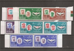 Dubai -Célébrités ( 221/230 En Paire XXX -MNH) - Dubai
