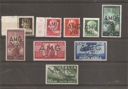 Italie -Occupation Interalliée ( Petit Lot De Timbres Divers Différents XXX -MNH) - Italien