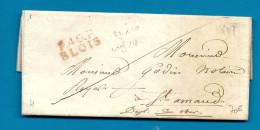 Loir Et Cher - Blois Pour St Amand (Cher). MP P40P/BLOIS. LAC De 1819. Cote 140euros - Postmark Collection (Covers)