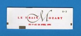 France. Carnet Non Ouvert De 10 Marianne F 2,30 N° 2614. Le Train Mozart   Vedi Descrizione.   ( FR ) - Libretti