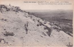 CPA Chemin Des Dames - Pente Est Du Plateau De Californie Et La Vue Sur L'Ailette - 1914-18 (23229) - France