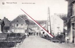 HAM-sur-heure - Les Environs De La Gare - Superbe Carte Animée - Ham-sur-Heure-Nalinnes