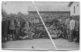 1917 / CARTE PHOTO / 6e RIC ( LYON ) / LA VALBONNE / 1917 / 6e REGIMENT D' INFANTERIE COLONIALE - War, Military
