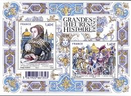 France BF N° F 560601 ** Les Grandes Heures De L'Histoire De France, Camp Du Drap D'Or, Catherine De Médicis - Mint/Hinged