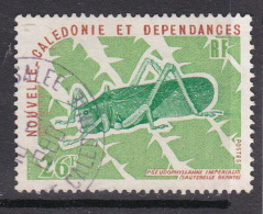 New Caledonia SG 577 1977 Insects 26F Cricket Used - New Caledonia