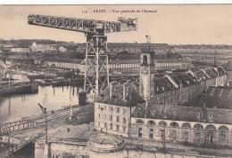 Cp , 29 , BREST , Vue Générale De L'Arsenal - Brest