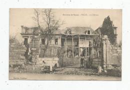 Cp , 60 , VILLE , Environs De NOYON , Le Château , Vierge - Autres Communes