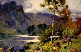 MISCELLANEOUS ART - RAVEN CRAG, THIRLMERE - A HEATON COOPER Art71 - Cumberland/ Westmorland