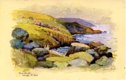 MISCELLANEOUS ART - ST IVES - FIVE POINTS CLODGY - ANNE CROFT Art77 - St.Ives