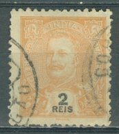 PORTUGAL - COLONIAS - INDIA 1903-11: YT 179 / Af. 187, O - FREE SHIPPING ABOVE 10 EURO - Portuguese India