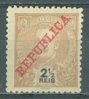 PORTUGAL - COLONIAS - INDIA 1911-14: YT 196 / Af. 203, * MH - FREE SHIPPING ABOVE 10 EURO - Portuguese India