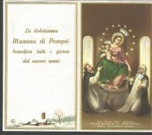 CAL15/16---  CALENDARIETTO,   1964,  MADONNA DI POMPEI,  NAPOLI, - Calendriers