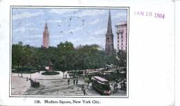 NEW YORK ---MADISON SQUARE - Places & Squares