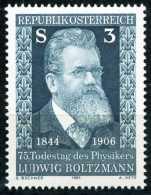 Österreich - Michel 1677 - ** Postfrisch (D) - Ludwig Boltzmann - 1945-.... 2. Republik