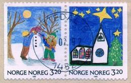 PIA - NORVEGIA - 1990 : Natale -  (YV  1013a) - Norvegia
