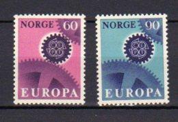 NORVEGE      Neuf **     Y. Et  T.    N° 509 / 510      Cote: 3,00 Euros - Norway