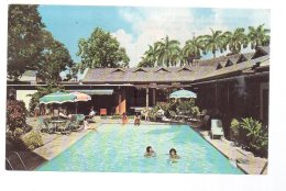 REF 252  : CPSM Dominique Dominica Fort Young Hotel Swimming Pool Roseau - Dominique