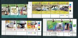 BRUNEI Mi.Nr. 626-638 Jahrgang 2002 - Used - Brunei (1984-...)