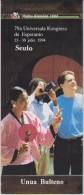Esperanto 1st Bulletin Congress 1994 Seoul - Unua Bulteno Universala Kongreso 1994 Seulo - Oude Boeken
