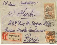 Lettre Recommandée De Magdeburg - Deutschland