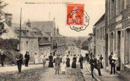 80 AIRAINES ( Somme )    Le Bas De La Rue Tripier . - France