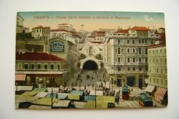 TRIESTE FRIULI VENEZIA GIULIA  NON VIAGGIATA   COME DA FOTO FORMATO PICCOLO OPACA - Trieste