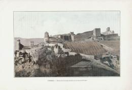 1903 - Phototypie Couleur - Crémieu (Isère) - Restes De L'enceinte Fortifiée Et De L'ancien Prieuré - FRANCO DE PORT - Vieux Papiers